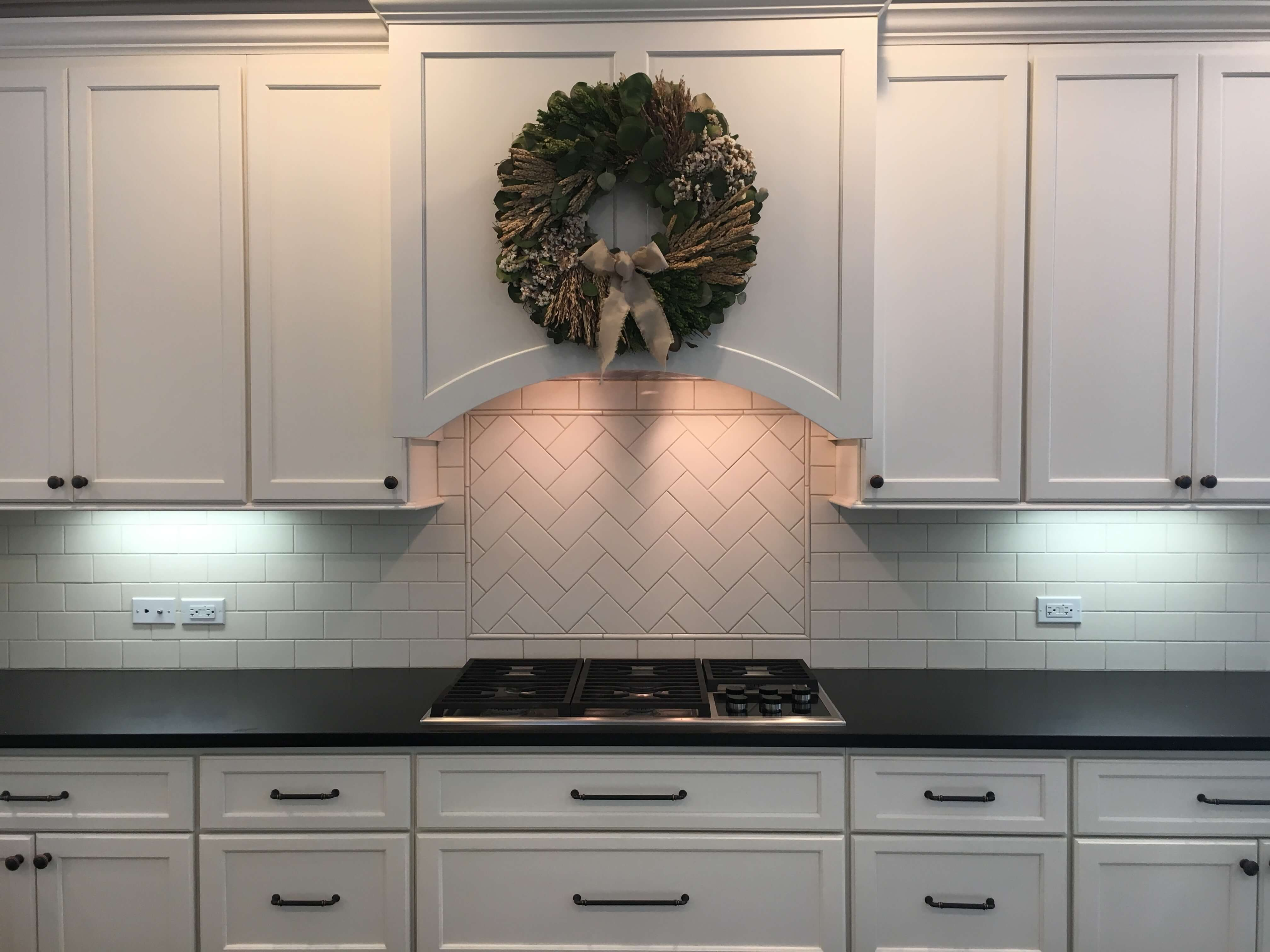 Snowflake Off-White Bertch Kitchen in Glenview